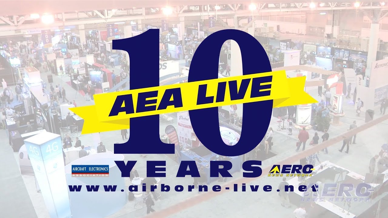 Celebrating 10 Years of AEA Live With Aero-News! - YouTube