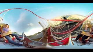 WOOW!!! Панорамное видео 360 градусов! Американские горки!(Больше видео ▻▻▻ https://vk.com/panoramnoevideo360 ◅◅◅ Панорама 360, сферическое VR видео для просмотра в очках виртуально..., 2015-09-06T22:18:12.000Z)