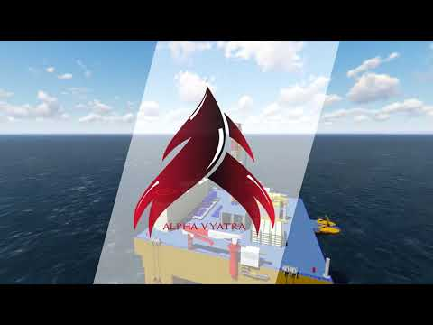 Semi Submersible Drilling Rig by Alpha Team HD