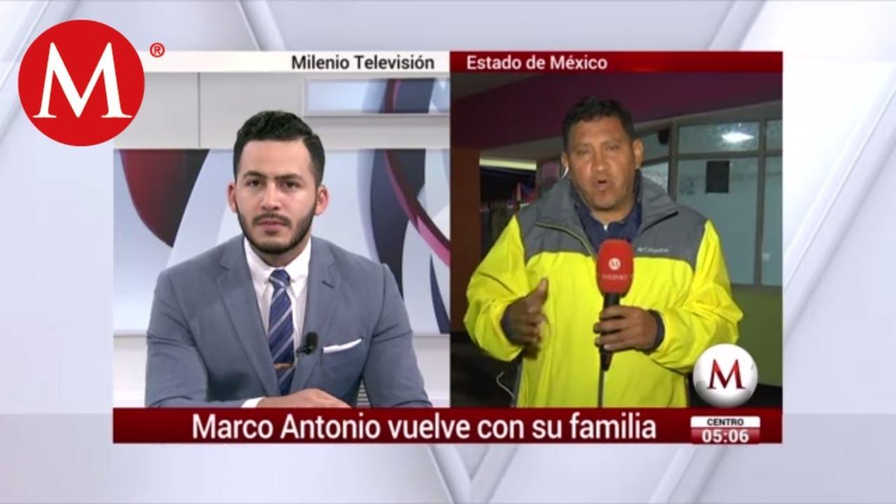 Marco Antonio Sánchez aparece vivo en el Estado de México - YouTube