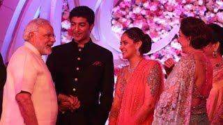 Narendra Modi's Blessings For Newly Wed Couple Ahana Deol & Varun Vora !