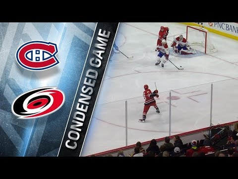 Montreal Canadiens vs Carolina Hurricanes – Feb. 01, 2018 | Game Highlights | NHL 2017/18.Обзор игры