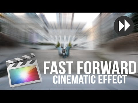 Epic Fast Forward Effect for Cinematic Video -Final Cut Pro X (Tutorial)