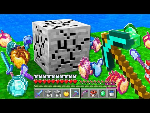 Paso Minecraft UHC pero TODO es ALEATORIO (Loot OP) 💎😱 INVICTOR, ELMAYO97 Y ACENIX