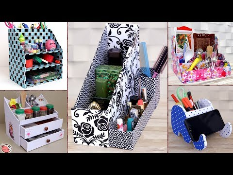 10 Best Home and Kitchen Organization Ideas || Useful DIY Craft Ideas