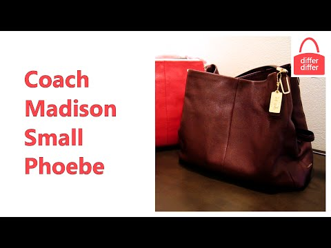 Coach Madison Small Phoebe Shoulder Bag in Leather 26224