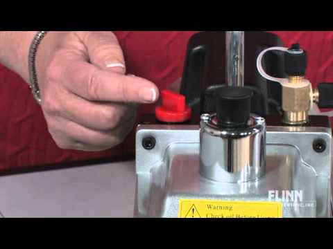 Two-Stage Vacuum Pump - YouTube