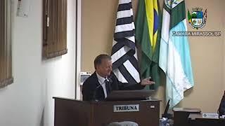26ª Sessão Ordinária - Vereador Vanderlei Pinatto
