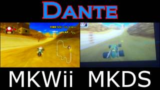 Mario Kart Wii VS Mario Kart DS Shortcuts