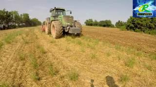 Fendt 930 Vario  & Coltivatore Garda | Minimum tillage | GoPro