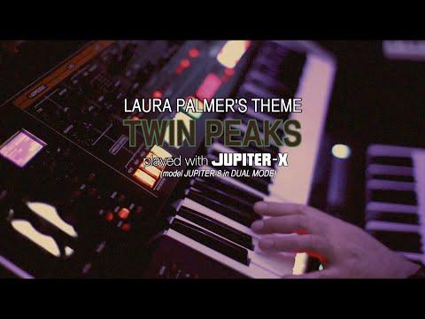 Laura Palmer's Theme - Roland JUPITER-X - by Gattobus
