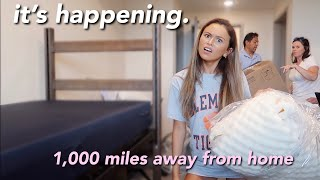 COLLEGE MOVE IN VLOG 2019 *clemson university*