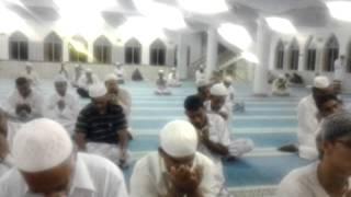Doa Mustajab oleh Imam SS Ahmed Al-Hafiz selepas solat subuh di masjid india kuala Lumpur