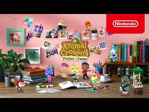 Decorate your dream campsite / Animal Crossing: Pocket Camp