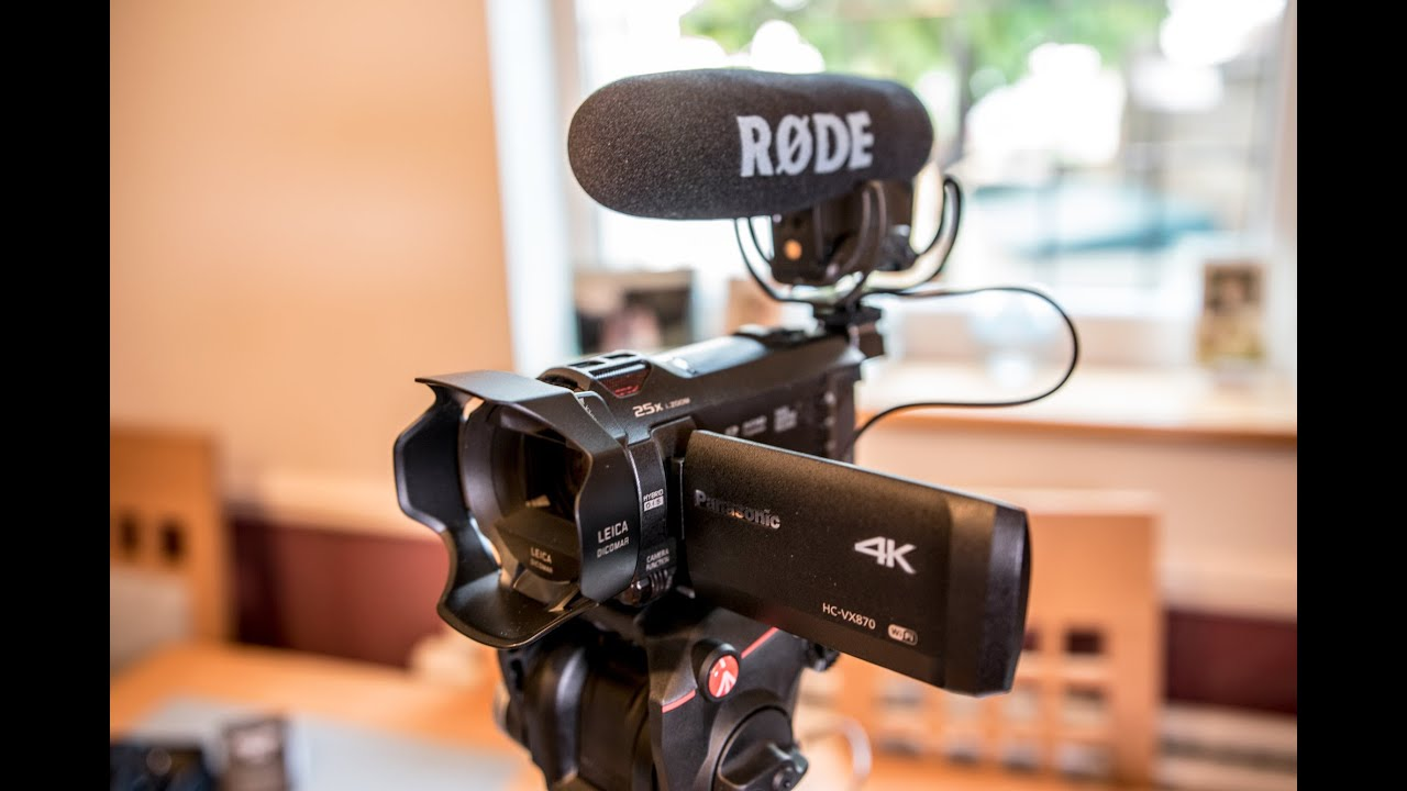 rode videomic pro professional microphone unboxing review 4k youtube. Black Bedroom Furniture Sets. Home Design Ideas