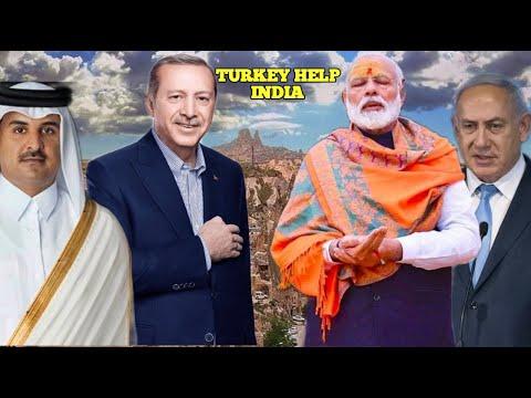 Turkey Ne Bheji India Ko Madad | Ghodi Media Ne Turkey Ke Khilaf Zaher Ugla | Israel Ki UN Me Bezati