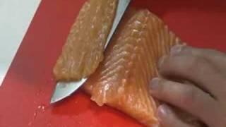 Olympian Garrett Weber-gale Cooks Smokey Salmon Jerky.