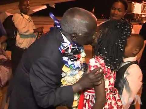 Chegada de Dhalakama a Maputo