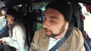 Жесткий трэш в такси