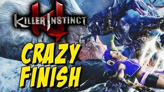 CRAZY FINISH - Arbiter: Killer Instinct Season 3 (Online Ranked)