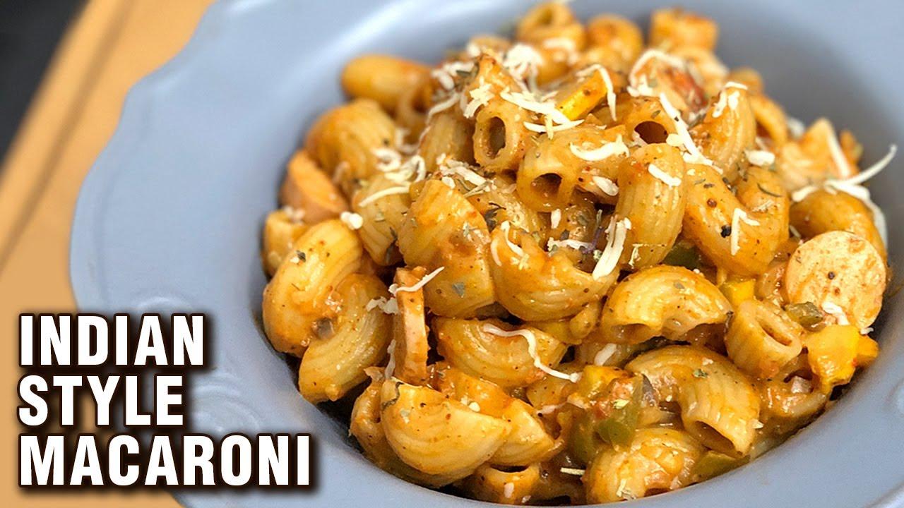 Indian Style Macaroni Pasta Recipe | How To Make Chicken Macaroni Masala | Macaroni Recipe | Tarika