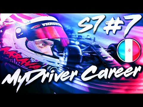 F1 MyDriver CAREER: HUGE SHIFTS IN THE CHAMPIONSHIP - S7 Part 7: Mexico
