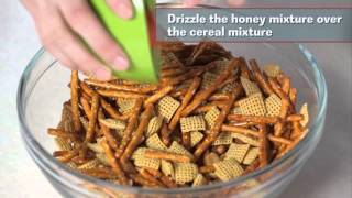 Snacks in a Snap: Honey-Bacon Snack Mix Thumbnail