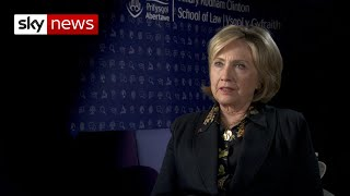 Exclusive: Hillary Clinton on Trump and Harry Dunn