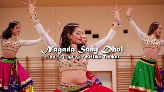 NAGADA SANG DHOL | KRITIKA THAKUR INDIAN DANCE GROUP PORTUGAL