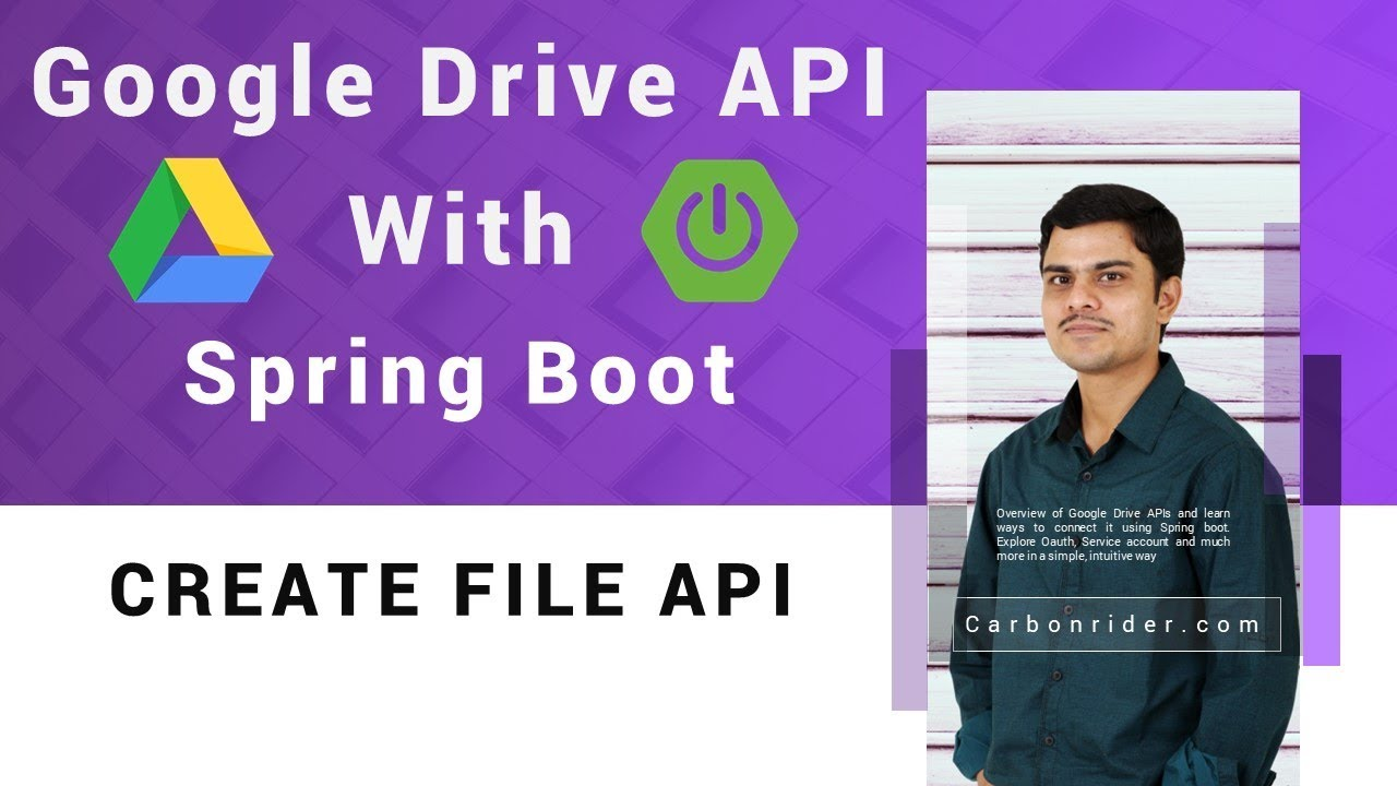 File operation in Google Drive API with Spring Boot