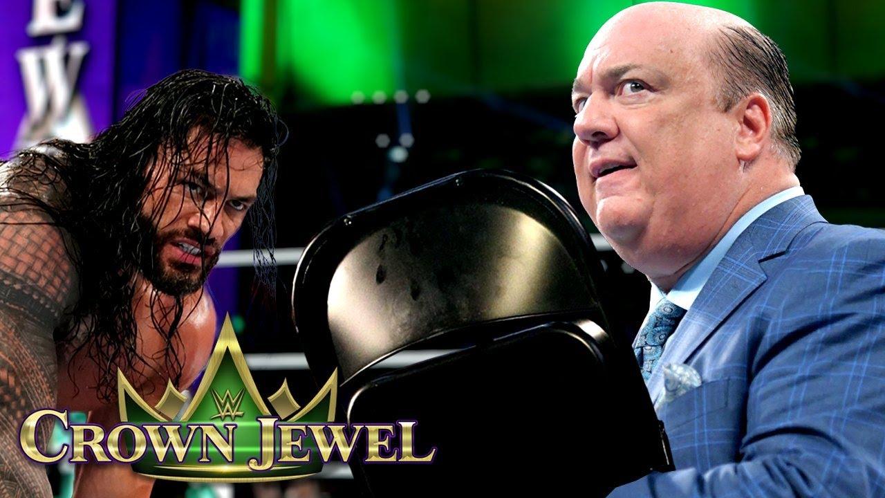 Download Paul Heyman Betrays Roman Reigns...Most Shocking WWE Crown Jewel 2021 Spoilers and Rumors
