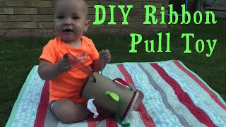 Diy Ribbon Pull Toy For Babies &toddlers