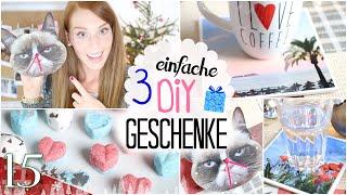 3 EINFACHE DIY GESCHENKE unter 10 EURO! DIY BADEKUGELN und mehr #santagirls 15. Türchen Thumbnail
