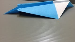 Paper Airplane Origami - Traditional Origami Jet Plane Ver. 1