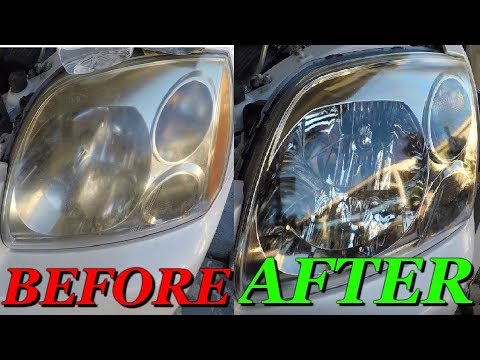 Fastest possible way to restore HEADLIGHTS