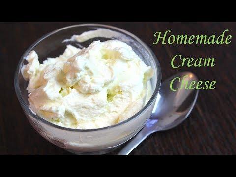 Homemade Cream Cheese - کریم چیز - क्रीम चीज़ *COOK WITH FAIZA*