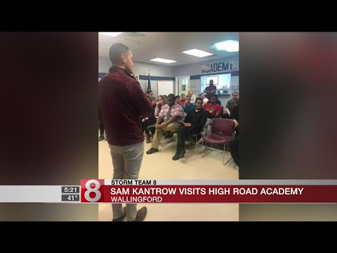 Sam Kantrow visits High Road Academy
