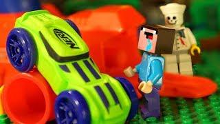 Лего НУБик Майнкрафт против НЁРФ ЧЕЛЛЕНДЖ - Мультфильмы LEGO Minecraft Мультики Видео для Детей
