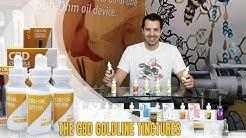 GoldLine CBD Oil - Vape & Sublingual CBD Tincture | How to use CBD Liquid or Oil