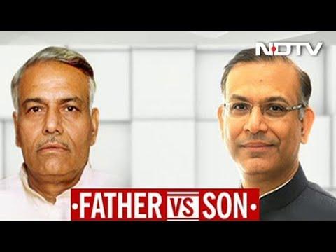 'Cheap Trick' If Son Jayant Was Told To Write Rebuttal: Yashwant Sinha