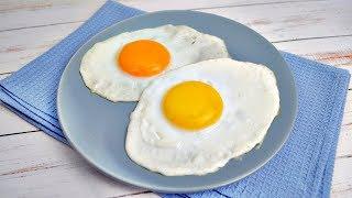 Идеальная яичница-глазунья