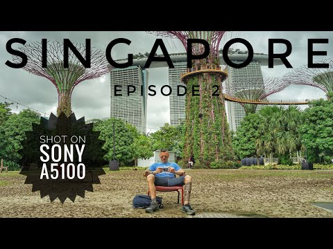 Singapore, Gardens By The Bay & The Merlion