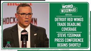 Detroit Red Wings EVP And GM Steve Yzerman On The 2021 NHL Trade Deadline
