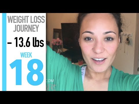 My Weight Loss Journey: WEEK 18 | MUSCLE LOSS, 6 PACK BAGS & CHEATS