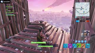 FORTNITE: Freezed players and the 101st kill [Fair of Grab]