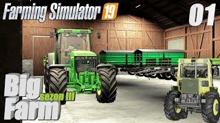 """Farming Simulator 19 Big-Farm #1 - """"Nowe gospodarstwo, nowe wyzwania"""""""