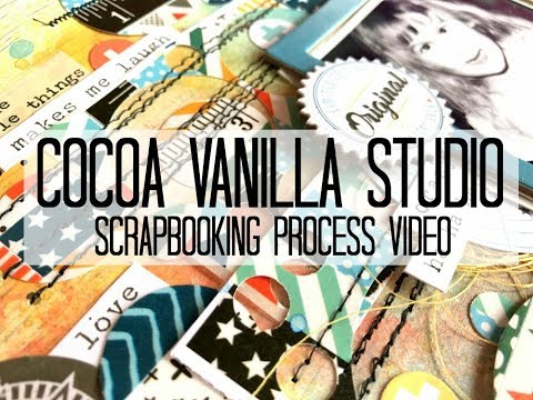 Scrapbooking Process #327 Cocoa Vanilla Studio / Bahaha!