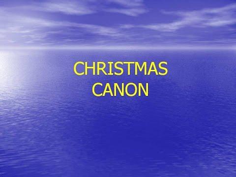 Christmas Canon - Kids Choir