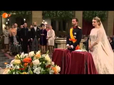 The Royal Wedding of Hereditary Grand Duke Guillaume and Stephanie de Lannoy 2012