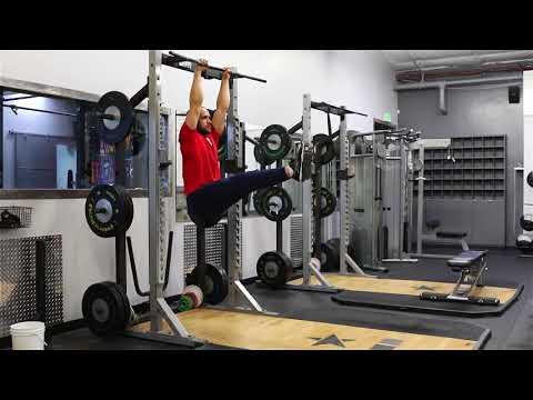 Hanging Leg Raise to 90 Degrees